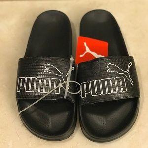 f3e5f24040cc Puma Shoes - Women s Puma Leadcat AO Leather Slide Sandals ...